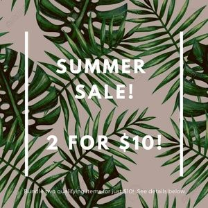 Accessories - LAST CHANCE! SUMMER SALE: 2 FOR $10!